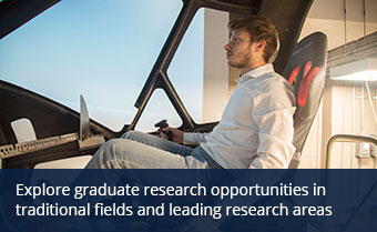 Explore graduate research opportunities in aerospace engineering