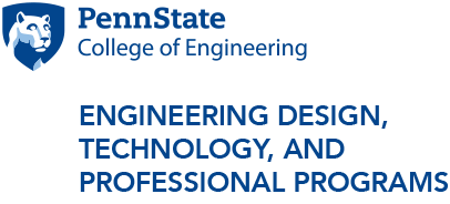 Penn State School of Engineering Design, Technology and Professional Programs