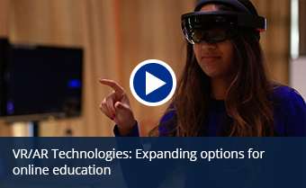 Augmented and Virtual Realities video