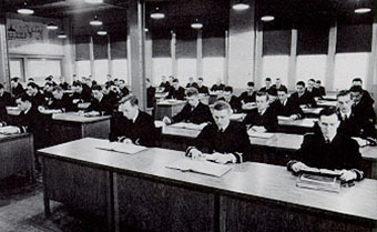 Historical Image of Students in Classroom