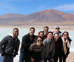 Sage Corps fellows visit the Andes Mountains