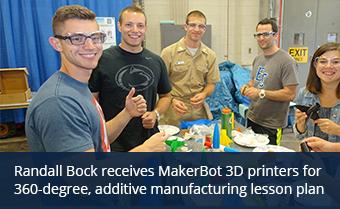 Students build 3d printed rockets